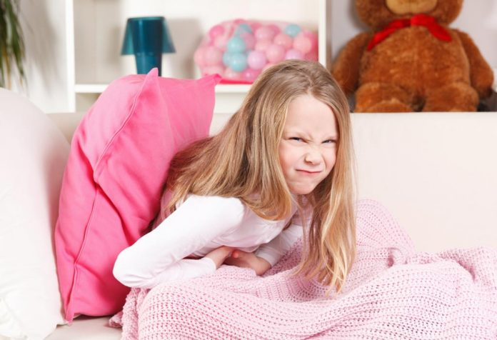 Stomach pain in kids