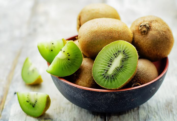A bowl of kiwi