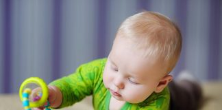 A six month-old baby