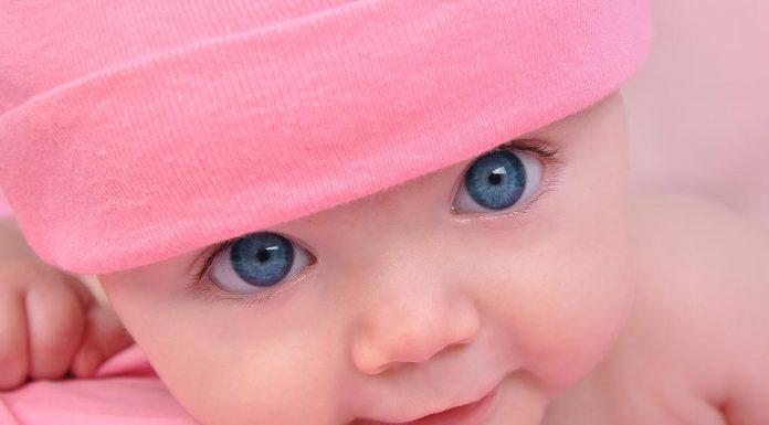 BABY EYE COLOUR